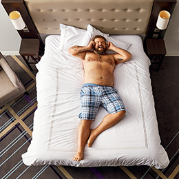 Image campaign for Premier Inn